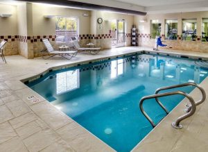 Indoor pool at the Fairfiled Inn & Suites - Murfreesboro